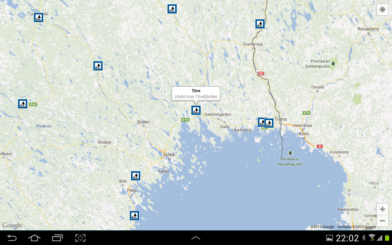 Rest Areas in Sweden - screenshot