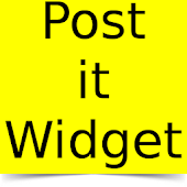 Post it Widget