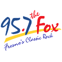 95.7 The Fox logo