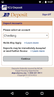 RCU Deposit - screenshot thumbnail
