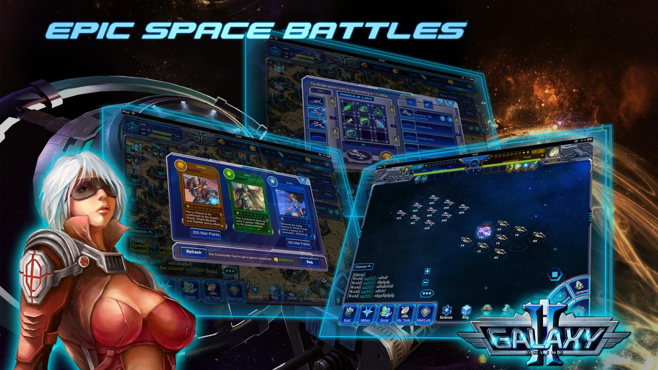 Galaxy Online 2 HD (Tablet) - screenshot