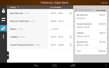Patterson State Bank Mobile Screenshot 24