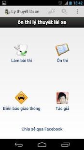 450 câu lý thuyết sát hạch ôtô - screenshot thumbnail