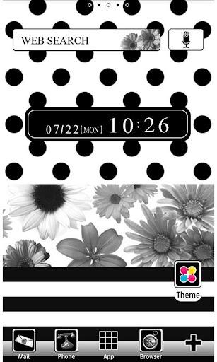 Flower Wallpaper Monochrome 1.2 Windows u7528 1