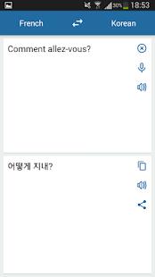 Korean French Translator - náhled