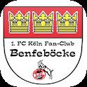 1. FC Köln Fan-Club Benfeböcke - Logo