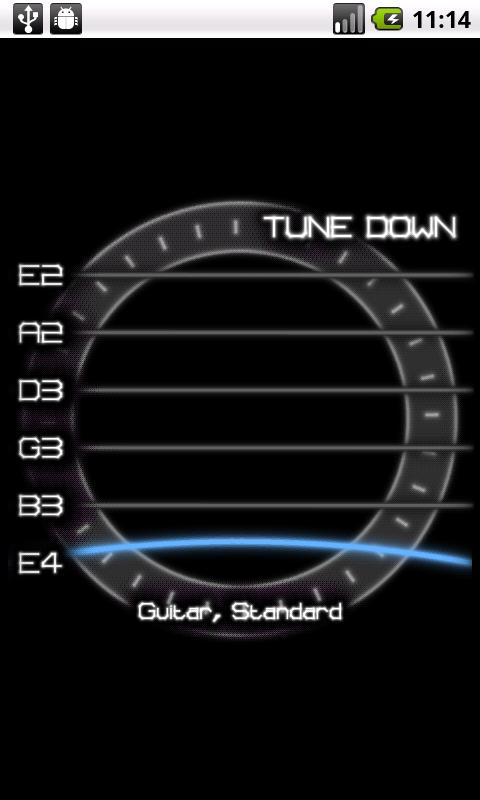 PitchLab Guitar Tuner (LITE) - screenshot