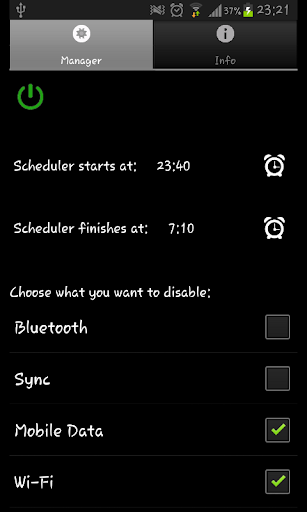 Battery Scheduler