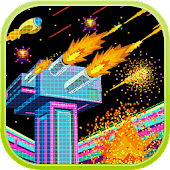 Retro galaxy: The battlefield