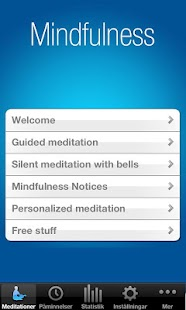 The Mindfulness App - screenshot thumbnail