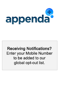 Appenda Opt-out - screenshot thumbnail