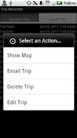 Screenshot of Trip Recorder