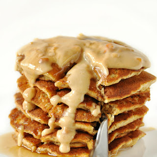 Peanut Butter Flaxseed Pancakes