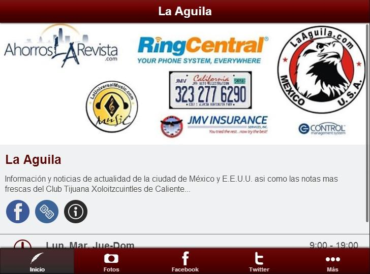 La Aguila - screenshot