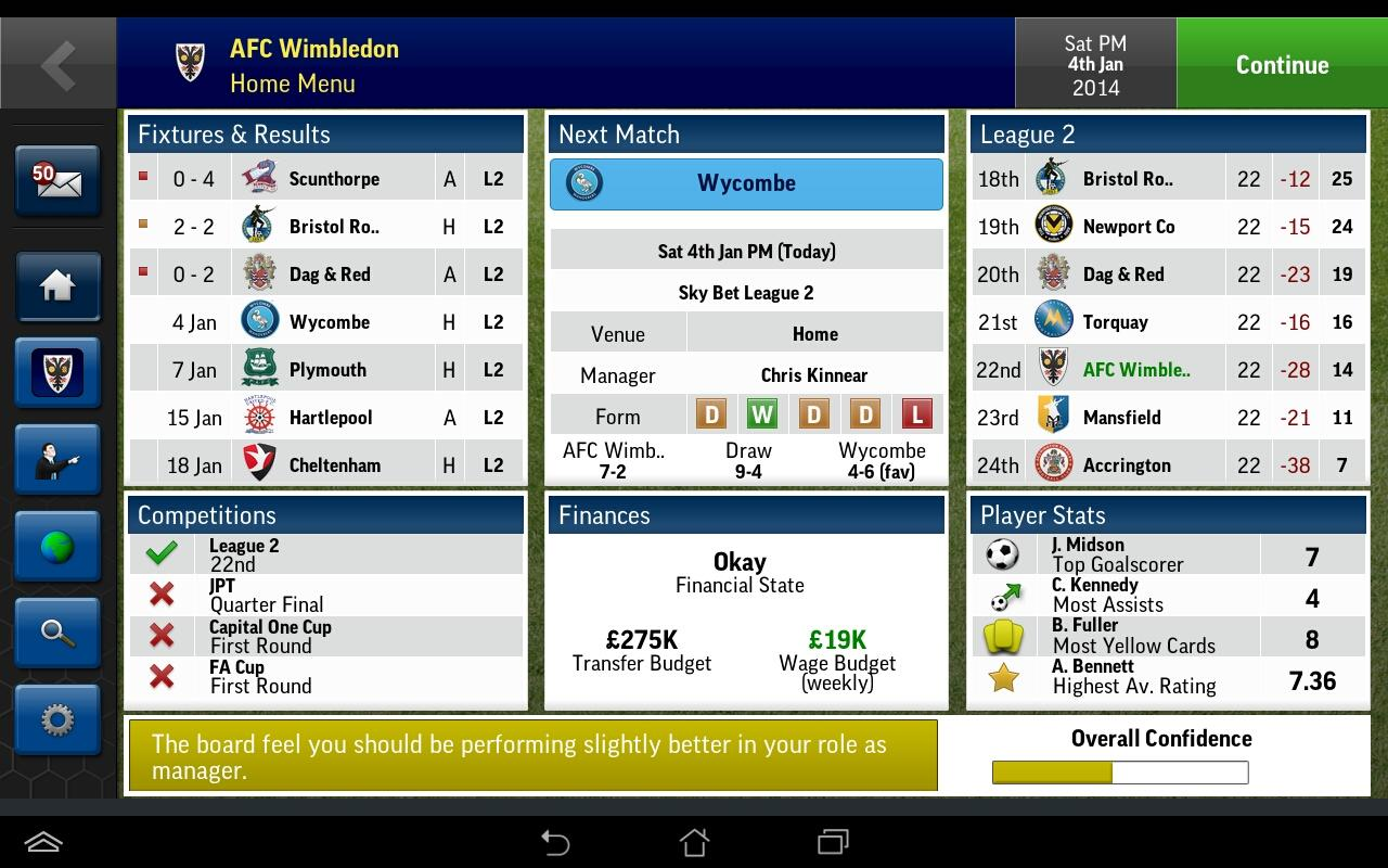 Football Manager Handheld 2015 v6.0 APK Full indir