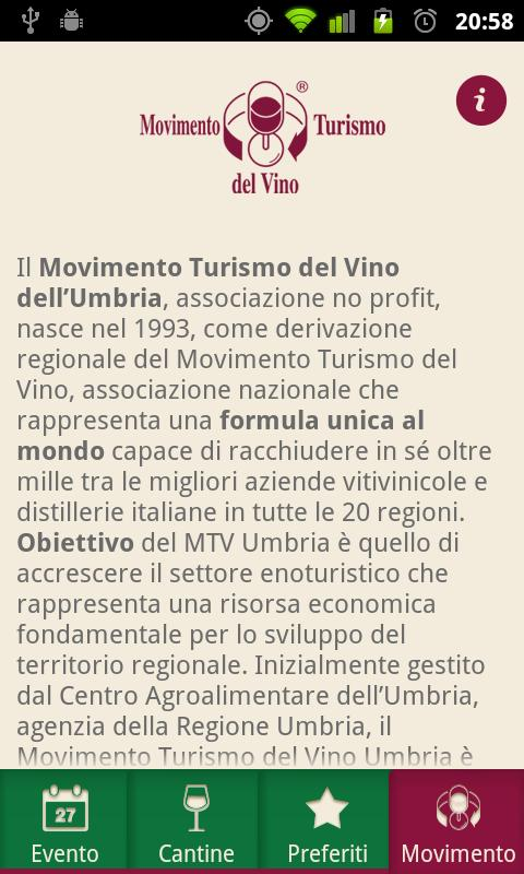 Cantine Aperte Umbria 2012 - screenshot