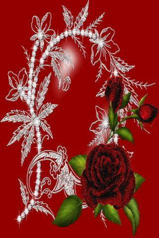 Rose Diamonds Live Wallpaper APK ScreenShots