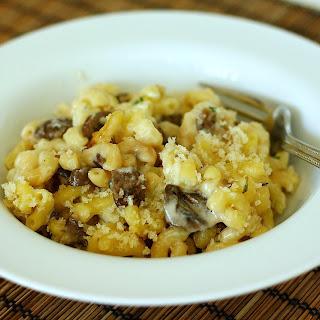 Mushroom Herb Macaroni and Cheese