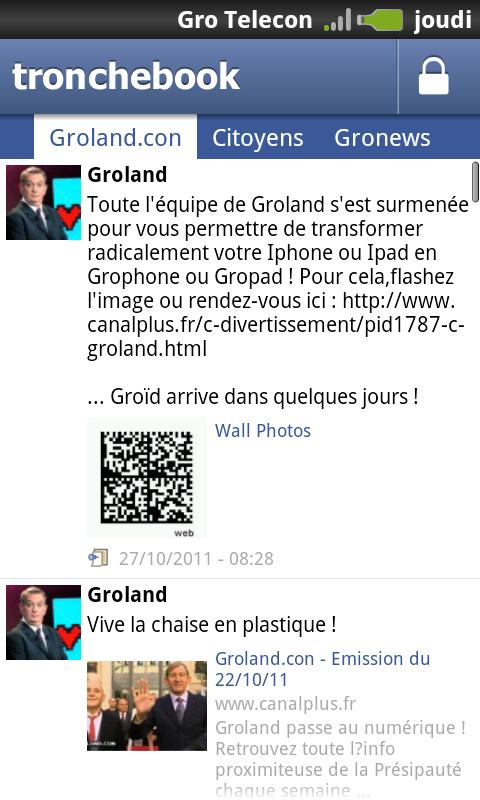 Groland - screenshot