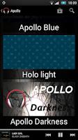 Screenshot of Theme Apollo Darkness