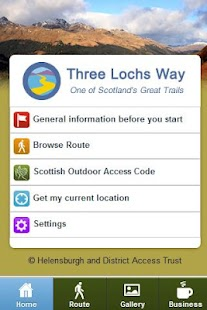 Three Lochs Way- screenshot thumbnail