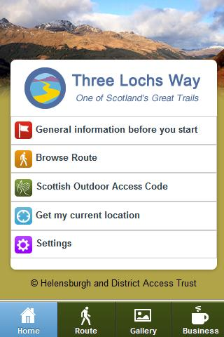 Three Lochs Way- screenshot
