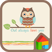 OWL alwaysloveyoubrown 도돌런처 테마