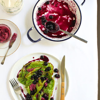 Spinach Crepes Recipes.