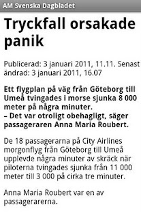 AM Svenska Dagbladet - screenshot thumbnail