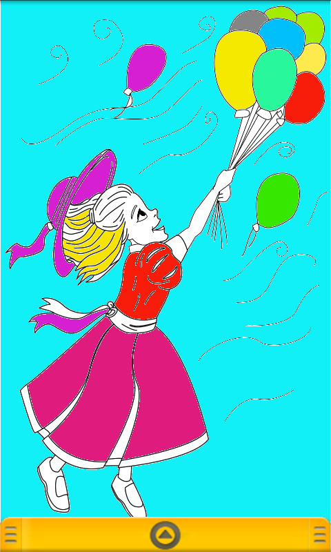Princess Coloring Book for kid - screenshot