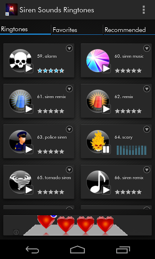 Siren Sounds and Ringtones - screenshot