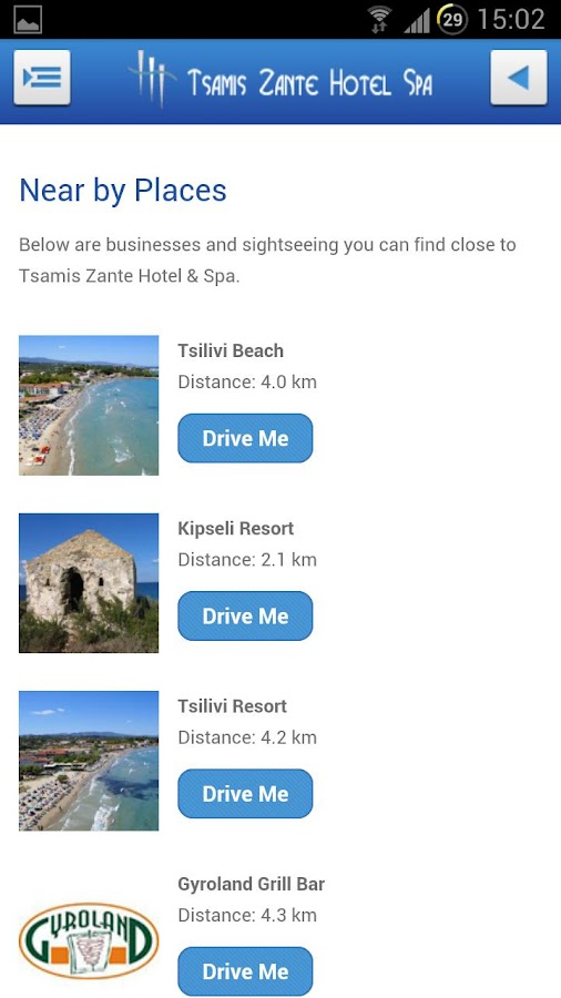 Tsamis Hotel & Spa- screenshot