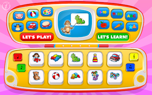 Kids Toy Phone Learning Games- screenshot thumbnail