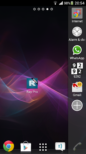 Ray Pro Sidebar Launcher