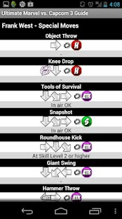 UMvC3 Moves & Frame Data Guide - screenshot thumbnail