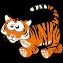 Tiger Kid Math Preschool Child icon