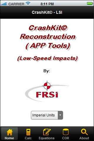 CrashKit - Low Speed Impacts
