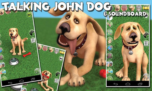 Talking John Dog & SB Deluxe  screenshots 1
