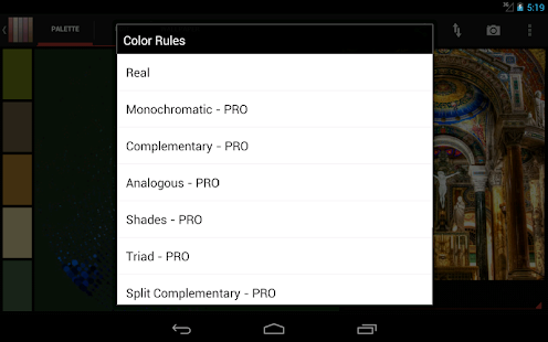 Real Colors, palette generator – Apps bei Google Play
