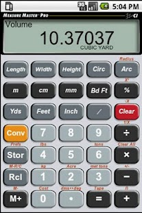 Measure Master Pro Calculator - screenshot thumbnail