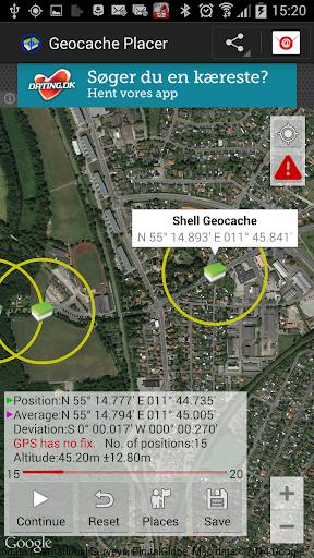 Geocache Placer