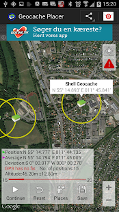 Geocache Placer- screenshot thumbnail