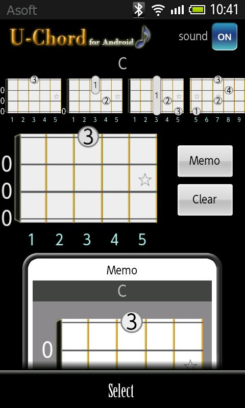 UChord  (Ukulele Chord Finder)- screenshot