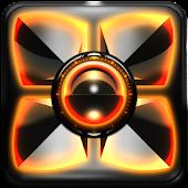 Next Launcher Theme Orange G