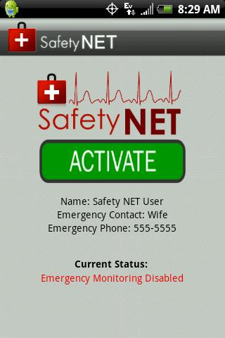 Safety NET - screenshot