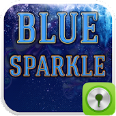 GO Locker Blue Sparkle