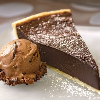 Chocolate Bourbon Fudge Tart