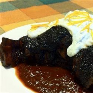 Lamb Shanks with Ancho Chile Honey Glaze Recipe