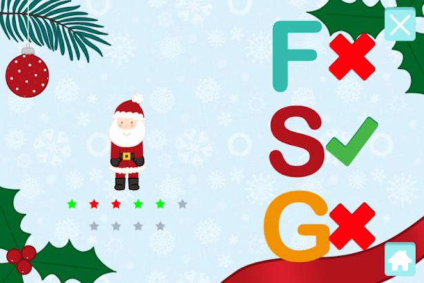 ABC: Christmas Alphabet Game- screenshot thumbnail