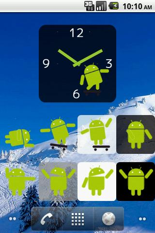 Dancing Droid Widget Free - screenshot